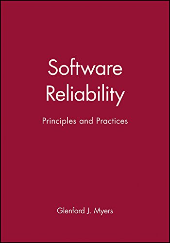 9780471627654: Software Reliability: Principles and Practices