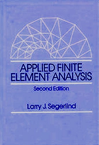 9780471627890: Applied Finite Element Analysis