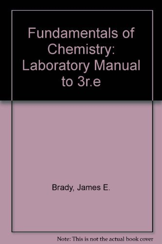 Laboratory manual chemistry abebooks fandeluxe Images