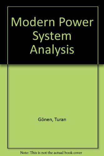 9780471628026: Modern Power System Analysis