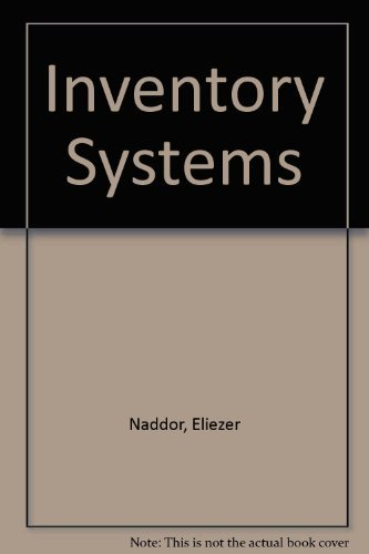 9780471628309: Inventory Systems