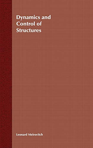 9780471628583: Dynamics and Control of Structures