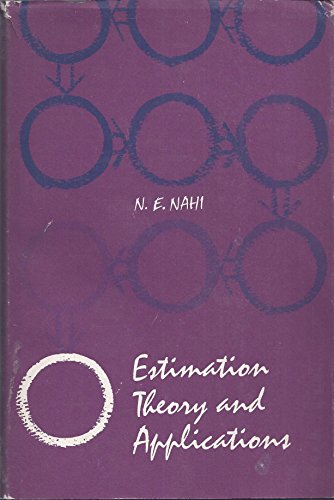 9780471628705: Estimation Theory and Applications