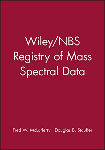 Wiley/Nbs Registry of Mass Spectral Data: McLafferty, Fred/ Stauffer,