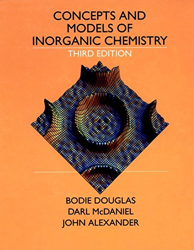 9780471629788: Concepts and Models of Inorganic Chemistry