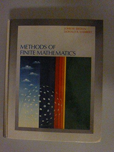 Explorations In Finite Mathematics Ibm For Bronson
