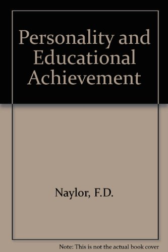 9780471630753: Personality and Educational Achievement