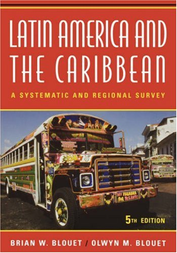 9780471630951: Latin America and the Caribbean: A Systematic and Regional Survey