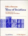 9780471631316: Thème et Variations: An Introduction to French Language and Culture, 4th Edition