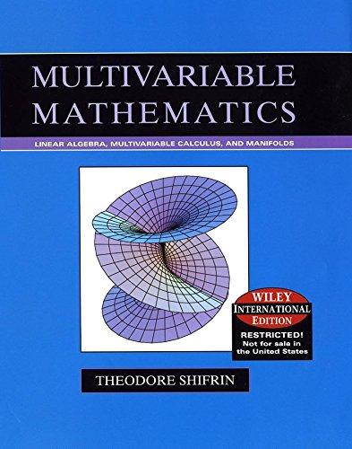 9780471631606: Multivariable Mathematics