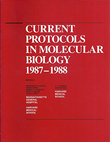 9780471632481: Current Protocols in Molecular Biology
