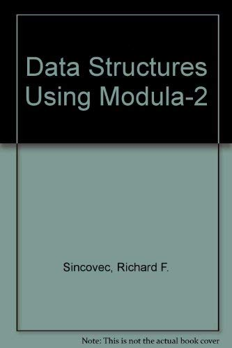 9780471632900: Data Structures Using Modula-2