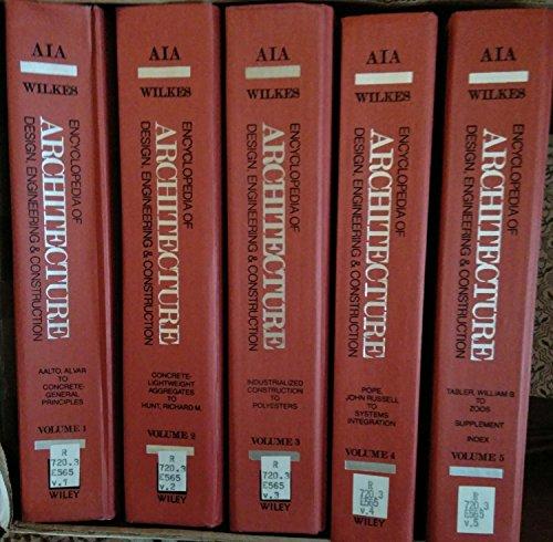 9780471633518: Encyclopedia of Architecture, 5 Volume Set (v. 1-5)