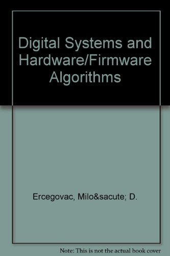 9780471633686: Digital Systems and Hardware/Firmware Algorithms