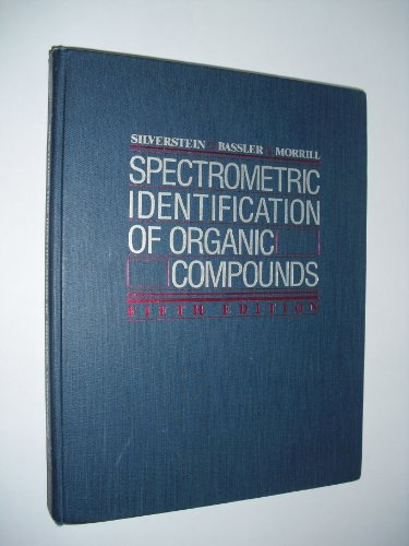 9780471634041: Spectrometric Identification of Organic Compounds