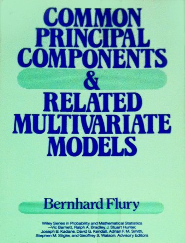 9780471634270: Common Principal Components and Related Multivariate Models (Wiley Series in Probability and Statistics - Applied Probability and Statistics Section)