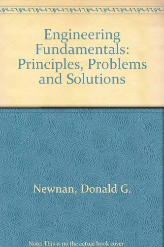 9780471634508: Engineering Fundamentals: Principles, Problems and Solutions