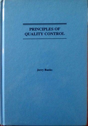 9780471635512: Principles of Quality Control