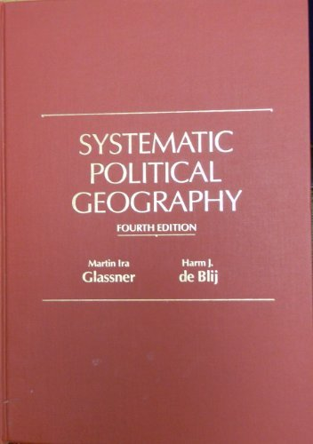 9780471635833: Systematic Political Geography