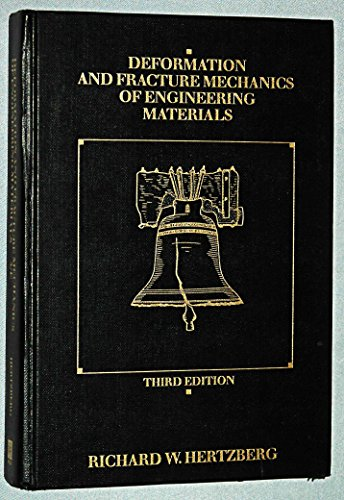 9780471635895: Deformation and Fracture Mechanics of Engineering Materials