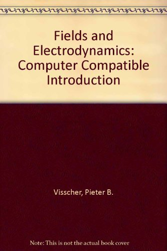 9780471637684: Fields and Electrodynamics: Computer Compatible Introduction