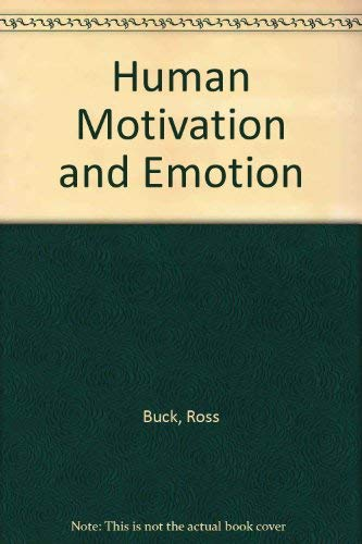 9780471637714: Human Motivation and Emotion