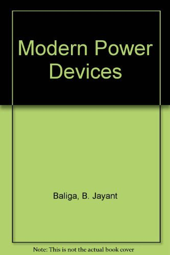 9780471637813: Modern Power Devices