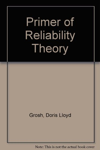 9780471638209: Primer of Reliability Theory