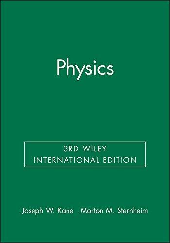 Physics 3E Wiley International Edition: Sternheim, Morton M.,