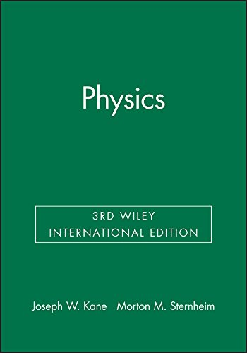 9780471638452: Physics 3E Wiley International Edition