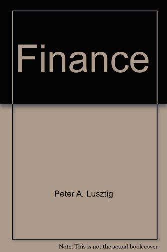 Finance: Lusztig, Peter A.