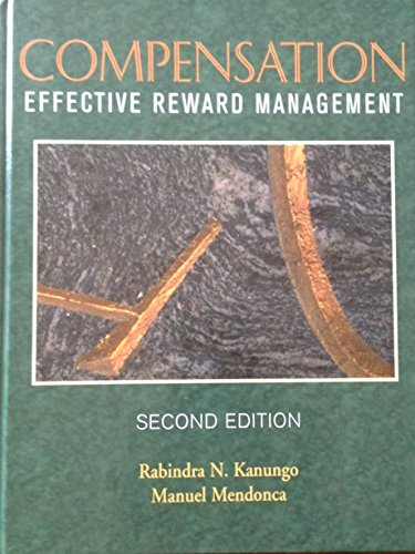 9780471641438: COMPENSATION: EFFECTIVE REWARD MANAGEMENT