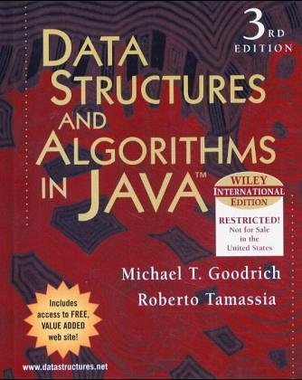 9780471644521: Data Structures and Algorithms in Java
