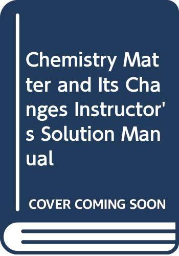 9780471649038: Inst Solutions Man Chemistry 4E