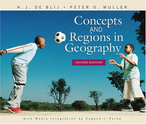 9780471649915: Concepts and Regions in Geography
