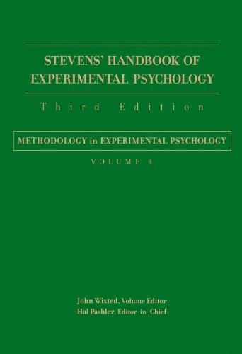 9780471650171: Stevens' Handbook of Experimental Psychology: Methodology in Experimental Psychology