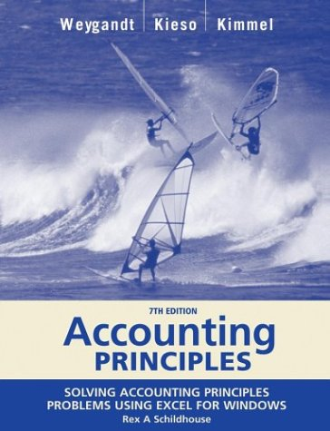 Accounting Principles, with PepsiCo Annual Report, Excel: Jerry J. Weygandt,