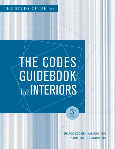 9780471650898: The Codes Guidebook for Interiors, Study Guide 3rd Edition