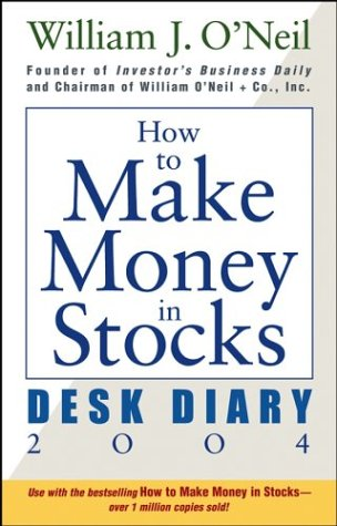 9780471650928: How to Make Money in Stocks Desk Diary 2004