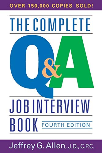 9780471651253: The Complete Q&a Job Interview Book