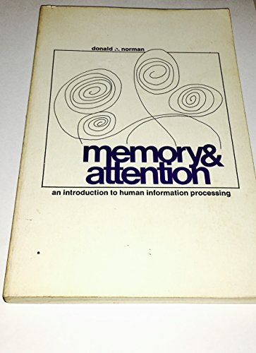 9780471651314: Memory & Attention