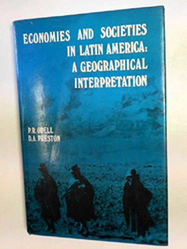 9780471652588: Economies and societies in Latin America: A geographical interpretation