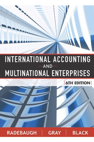 9780471652694: International Accounting and Multinational Enterprises