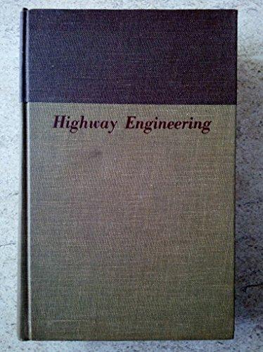 9780471652892: Highway Engineering
