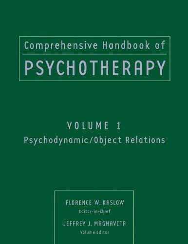 9780471653257: Comprehensive Handbook of Psychotherapy, Psychodynamic/Object Relations (Volume 1)