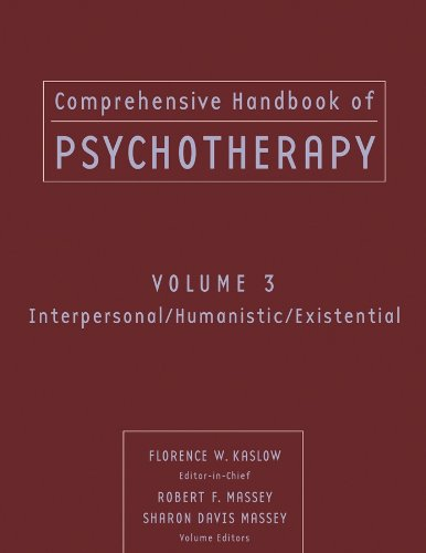 9780471653288: Comprehensive Handbook of Psychotherapy, Interpersonal/Humanistic/Existential (Volume 3)