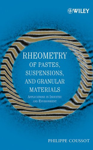 Rheometry of Pastes, Suspensions and Granular Materials: Applications in Industry and Environment Online Version)