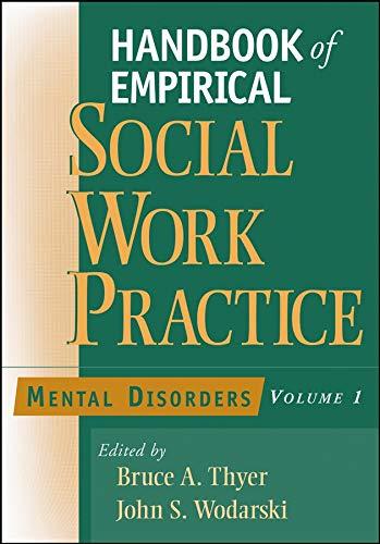 9780471654339: Handbook of Empirical Social Work Practice, Volume 1: Mental Disorders