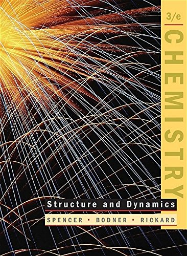 9780471655527: Chemistry: Structure and Dynamics
