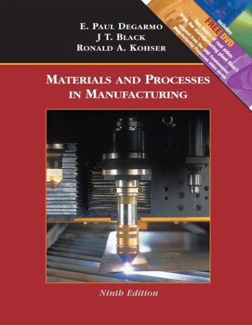 9780471656531: Materials and Processes in Manufacturing